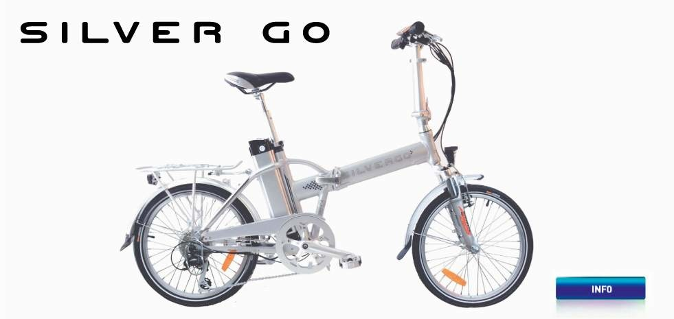 Electric bicycle AGOGS SilverGo