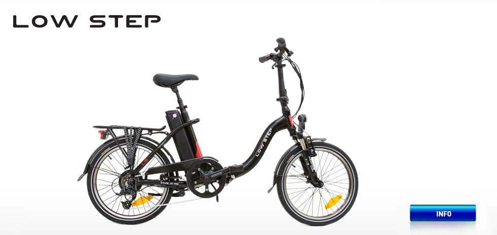 Electric bicycle AGOGS LowStep
