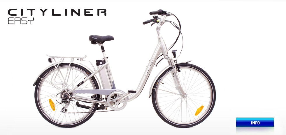 Electric bicycle AGOGS CityLiner Easy