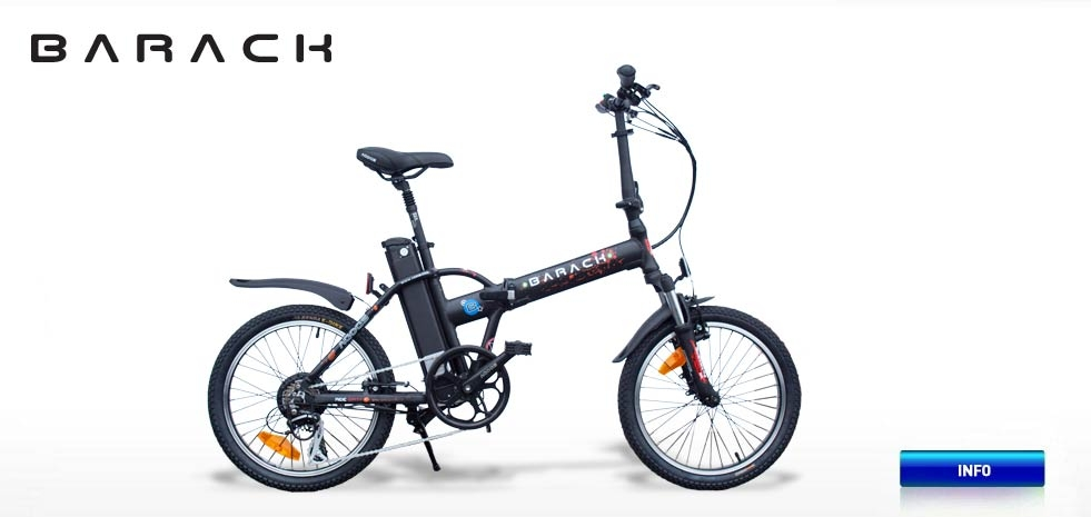 Electric bicycle AGOGS Barack