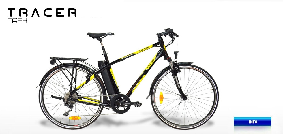Electric bicycle - AGOGS Tracer Trek